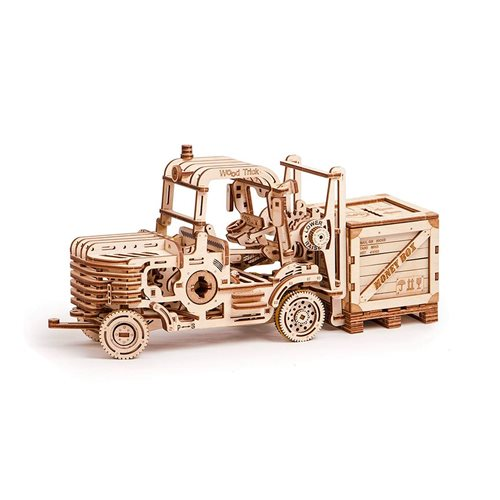Wood Trick Wooden Model Kit - Forklift