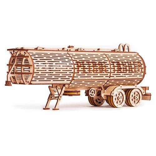 Wood Trick Wooden Model Kit - Tank Trailer - addition for Big Rig