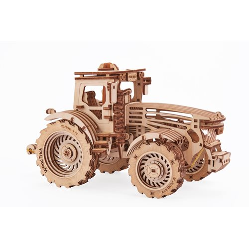 Wood Trick Wooden Model Kit - Tractor