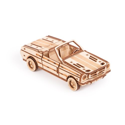 Wood Trick Wooden Model Kit - Cabriolet