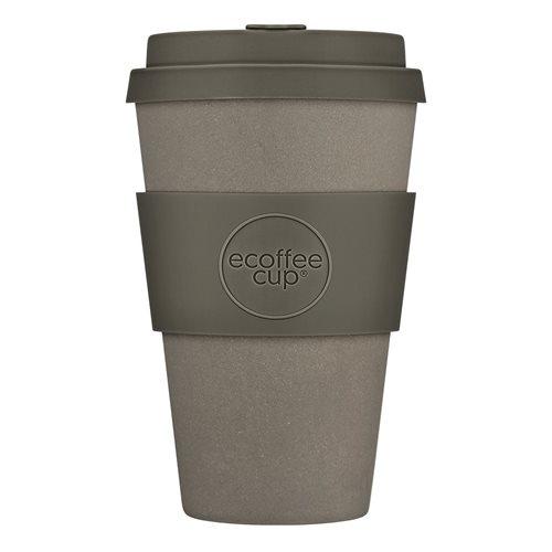 Ecoffee Cup Molto Grigio - Bamboo Cup - 400 ml - with Grey Silicone