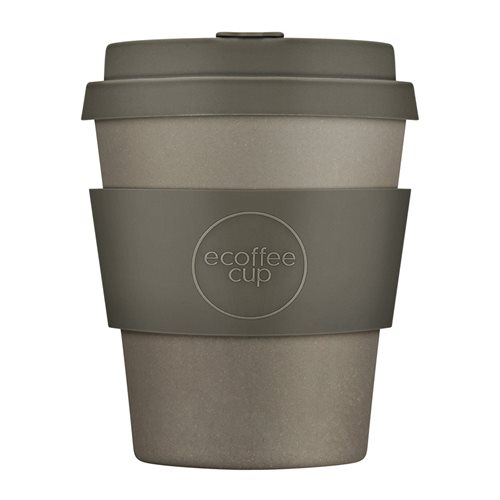 Ecoffee Cup Molto Grigio - Bamboo Cup - 250 ml - with Grey Silicone