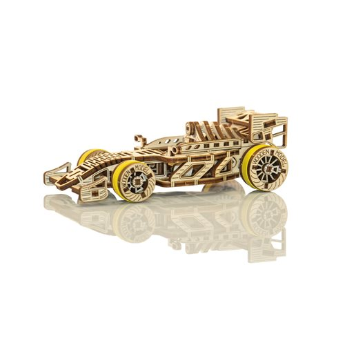 Wooden City Bolid Race Car - Wooden Model Kit