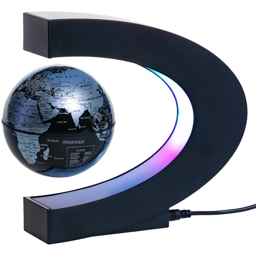 United Entertainment Magnetic Levitating Globe with LED Lights