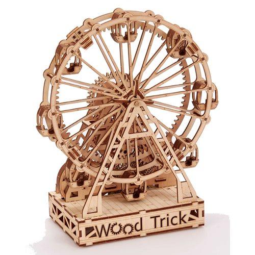 Wood Trick Wooden Model Kit - Mechanical Ferris Wheel
