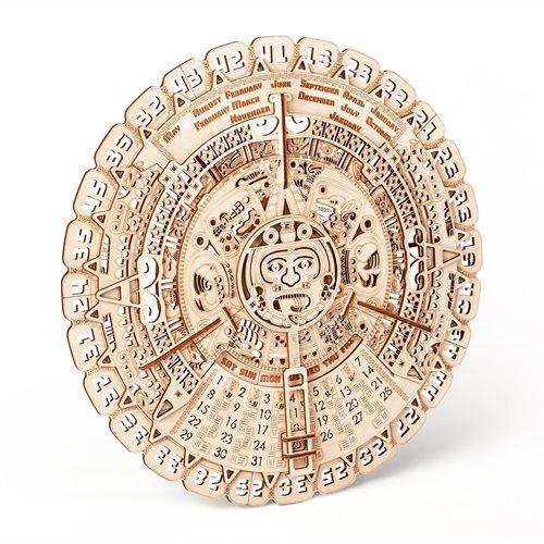 Wood Trick Wooden Model Kit - Mayan Calendar