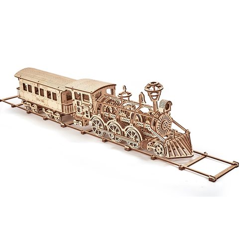 Wood Trick Wooden Model Kit - Locomotive R17