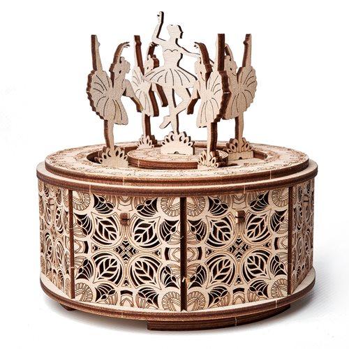 Wood Trick Holz Modell Kit - Tanzende Ballerinas - Spieluhr