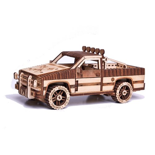 Wood Trick Wooden Model Kit - Pick-up Truck WT-1500