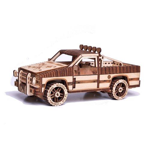 Wood Trick Pick-up Truck WT-1500 - Houten Modelbouw