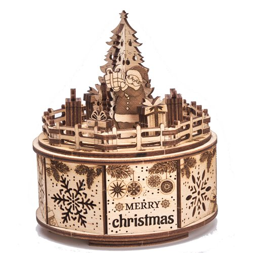 Wood Trick Wooden Model Kit - Gifts from Santa - Music Box