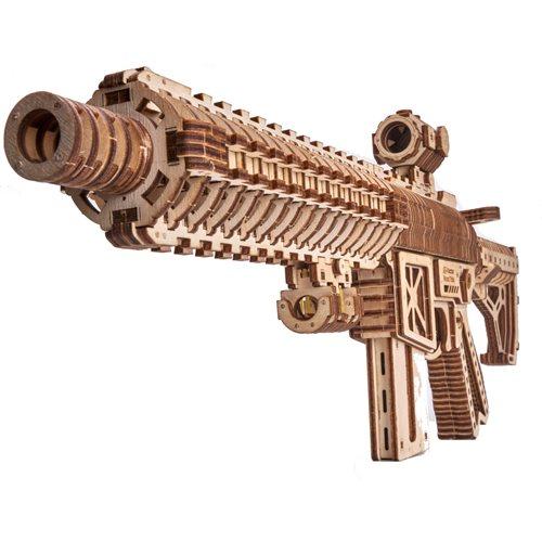 Wood Trick Wooden Model Kit - Assault Gun AR-T