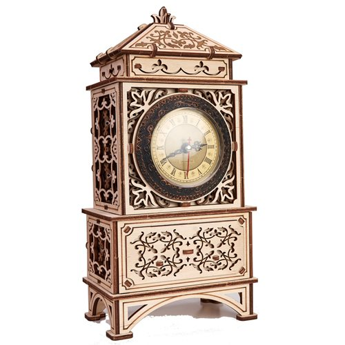 Wood Trick Wooden Model Kit - Classic Clock