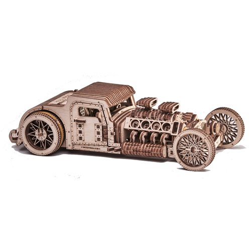 Wood Trick Wooden Model Kit - Hot Rod