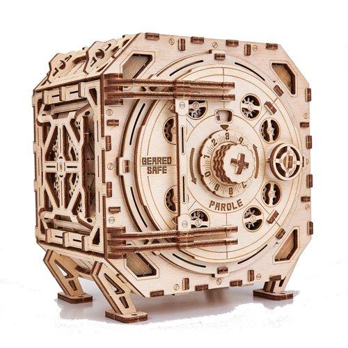 Wood Trick Wooden Model Kit - Geared Safe