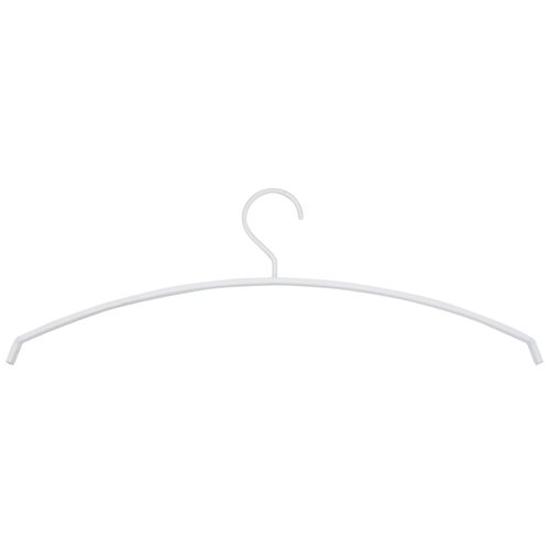 Spinder Design Silver Coat Hanger Set of 5 - White