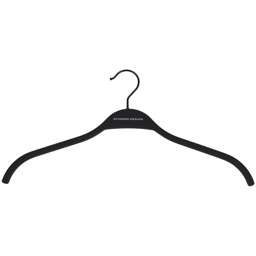 Spinder Design Rosa Coat Hanger Set of 5 - Black