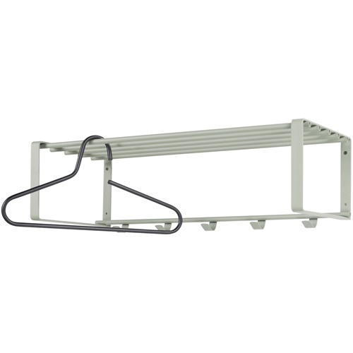 Spinder Design Rex 2 Wall Coat rack with 5 hooks 70x29x19 - Olive green