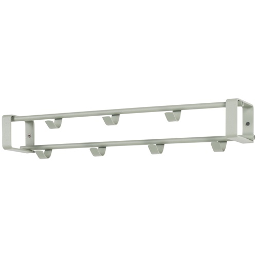 Spinder Design Rex 1 Wall Coat rack with 7 hooks 60x11.5x10 - Olive green