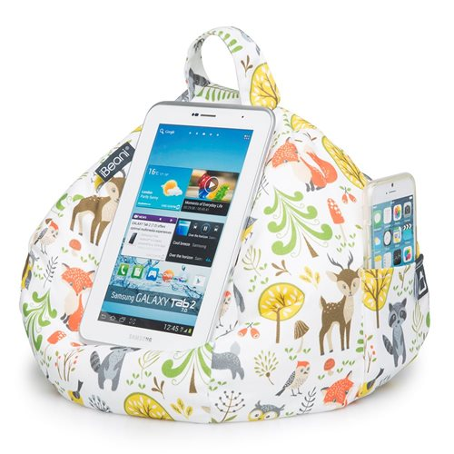 iBeani Multifunctional Bean Bag Tablet Stand - Woodland