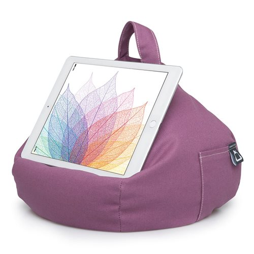 iBeani Multifunctional Bean Bag Tablet Stand - Purple