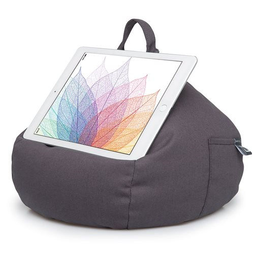 iBeani Multifunctional Bean Bag Tablet Stand - Slate Grey
