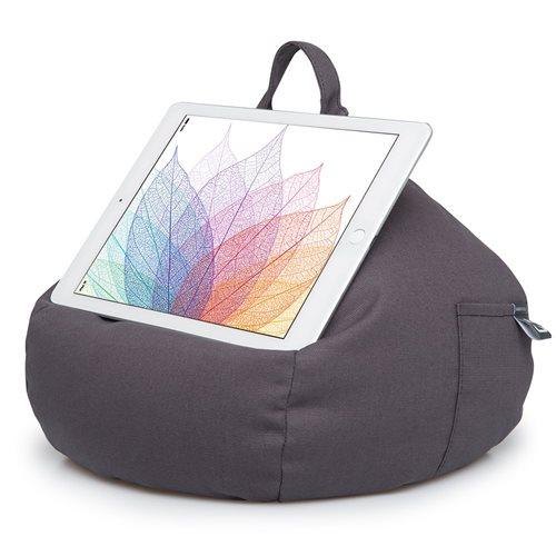 iBeani Multifunktional Sitzsack Tablet Ständer - Schiefergrau