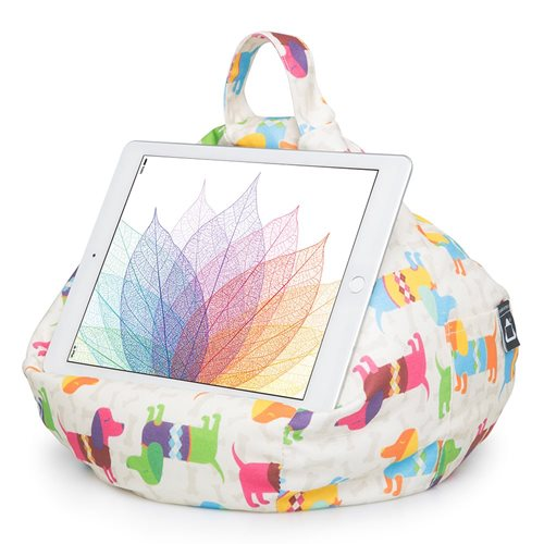 iBeani Multifunktional Sitzsack Tablet Ständer - Dackel