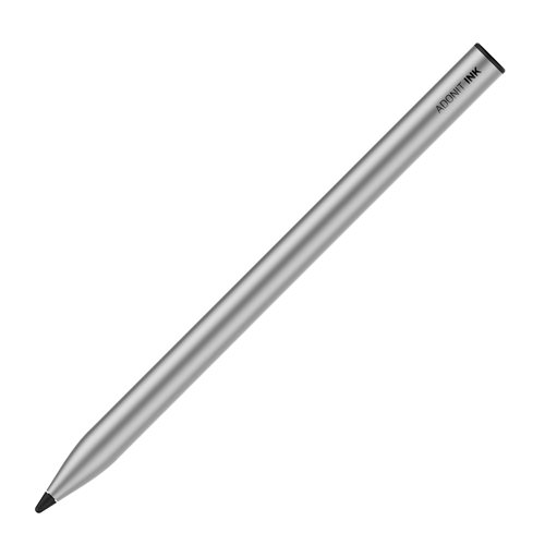 Adonit Ink Stylus - Multimedia Stylus Pen - Rechargeable - Silver