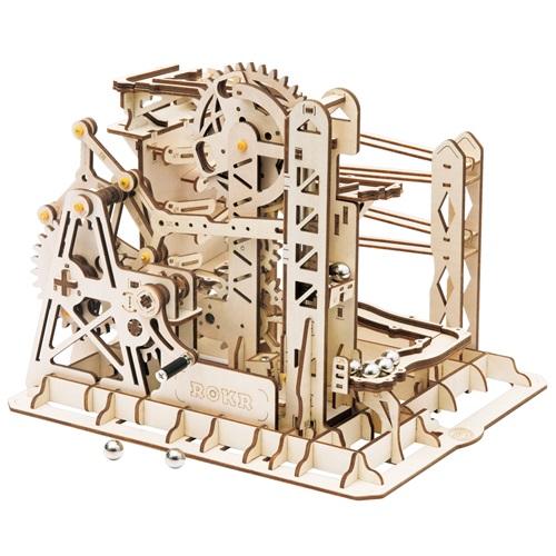 Robotime Marble Explorer - Murmelbahn - Holzmodellbau