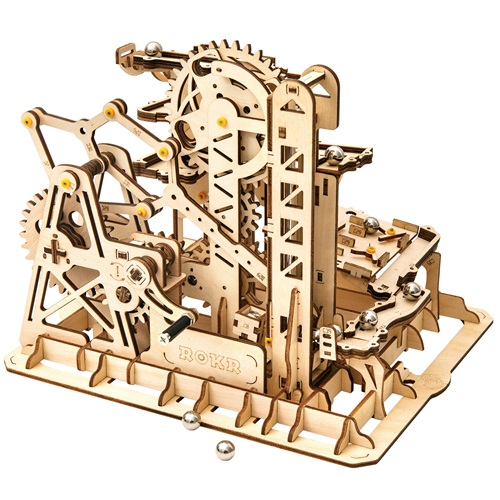 Robotime Marble Climber - Marble Run - Wooden Model Kit
