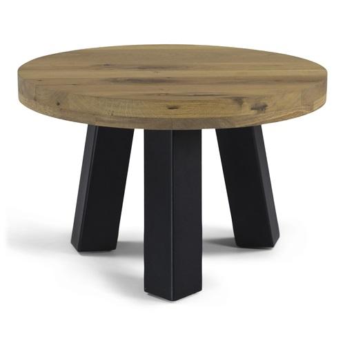 Spinder Design Bono Salontafel 60x60x40 - Eiken/Zwart