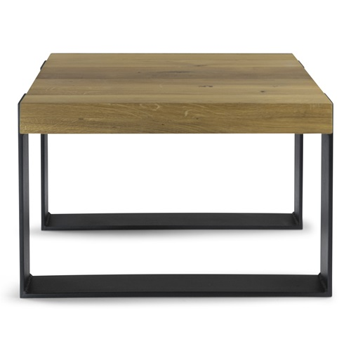 Spinder Design Weekend Coffee Table 60x60x40 - Oak/Black