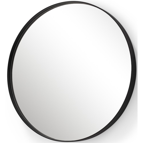 Spinder Design Donna 6 Mirror 120x120 - Black