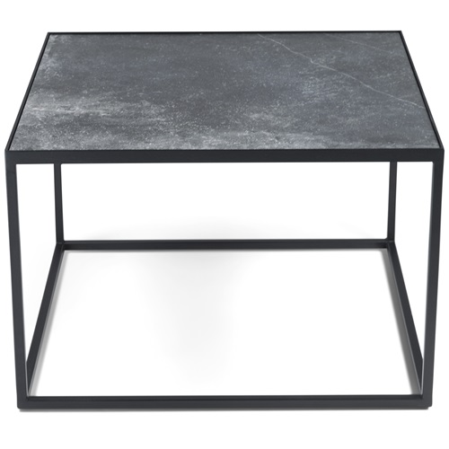 Spinder Design Tijl Salontafel 60x60x40 - Zwart