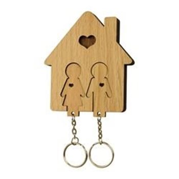 Image pour catégorie Porte-clés en bois