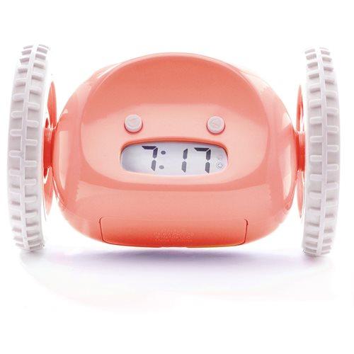 Clocky - Alarm Klok op Wielen - Roze