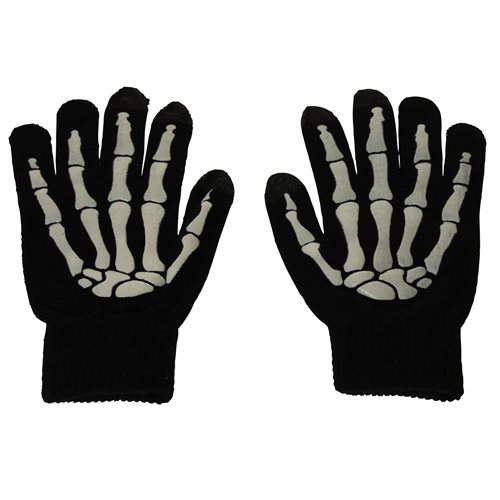 United Entertainment Glow in the Dark Touch Gloves