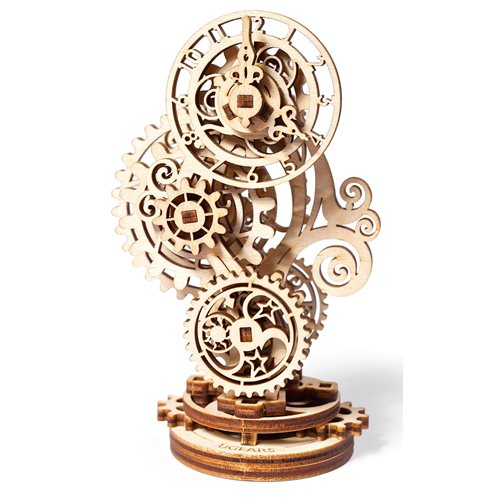 Ugears Wooden Model Kit - Steampunk Clock