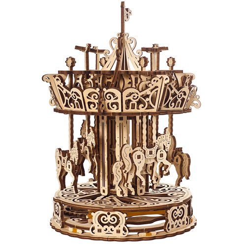 Ugears Wooden Model Kit - Carousel