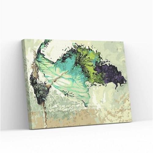 Best Pause Tanzende Ballerina - Malen nach Zahlen - 40x50 cm - DIY Kit
