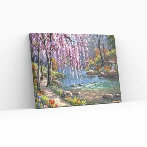 Best Pause Garten Eden - Malen nach Zahlen - 40x50 cm - DIY Kit