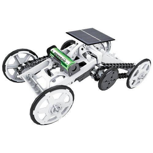 PowerPlus Junior Beaver - DIY Climbing Vehicle - Solar or Battery powered Terrain Car - STEM Eco Toy Kit