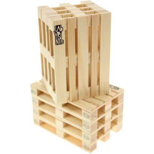 Labyrinth Palette-It - Set van 8 design pallet onderzetters
