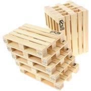 Labyrinth Palette-It - Set of 10 design pallet coasters