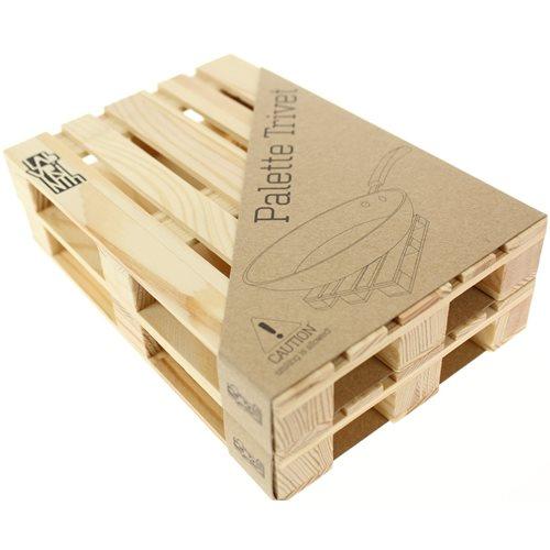 Labyrinth Palette Trivet - Paletten Untersetzer fur Pfannen 2er set