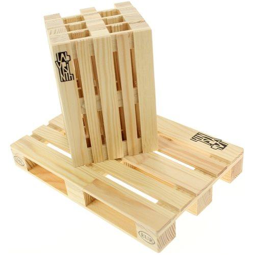 Labyrinth - Pallette set - Pallette-It set of 4 + Pallette Trivet Untersetzer fur Pfannen