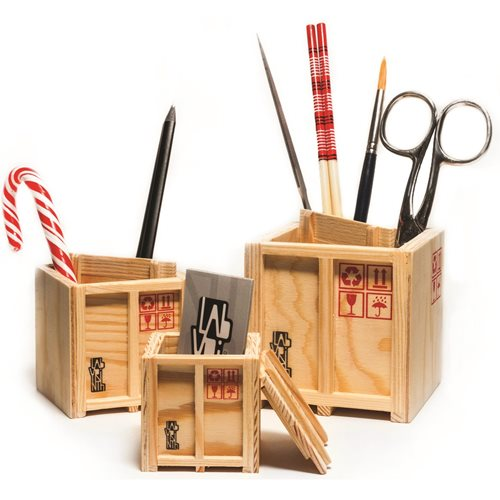 Labyrinth Inbox - Storage boxes - Set of 3 designer Shipping boxes