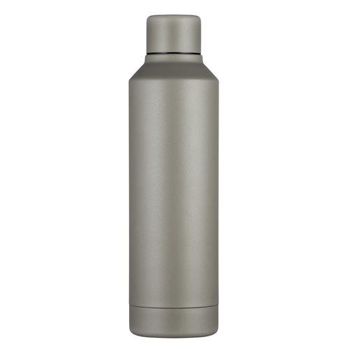 Ecoffee Cup Molto Grigio - Hardback Tall Hot/Cold Vacuum Bottle - 500 ml - Grey
