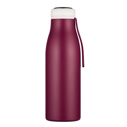 Ecoffee Cup Grand Cru - Softail Tall Hot/Cold Vacuum Bottle - 500 ml - Dark Red
